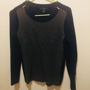 Dual color sweater